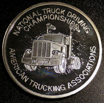 1992 Nashville National Truck Driving Championships 5 oz .999 fine silver round