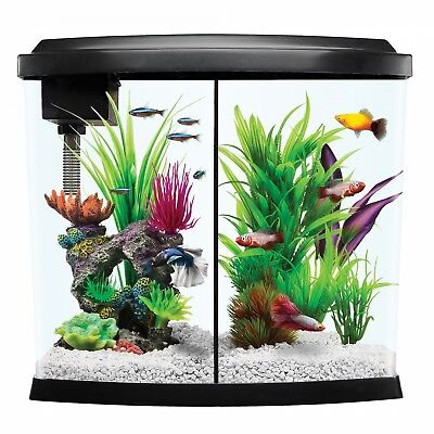 Top Fin Imagine Aquarium Kit size: 2.5 Gal - with lots of extras - food, rocks