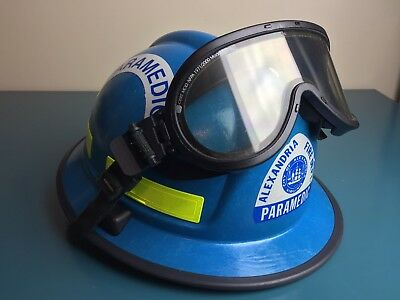"01"" Morning Pride RH-PLUS USAR  Fire Firefighter Paramedic Rescue Helmet RARE"