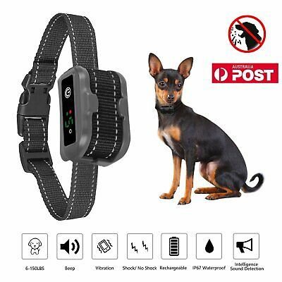 2019 Upgrade Auto Anti Bark Collar - USB Rechargeable Dog Barking Control Collar