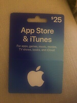 Apple $25 itunes & App Store  Gift-card