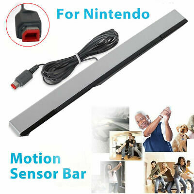 Wired Infrared IR Signal Ray Sensor Bar Receiver for Nitendo Wii U Console Remot