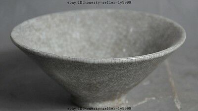 "5""chinese Jingdezhen Official kiln Chinaware old Porcelain Glaze statue bowl cup"
