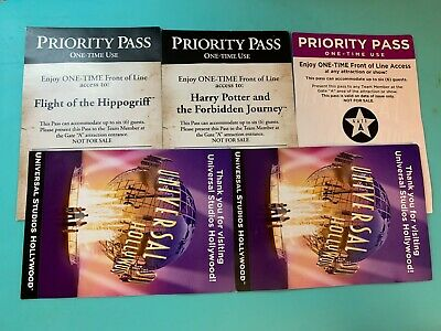 Universal Studios Hollywood Priority Pass Harry Potter