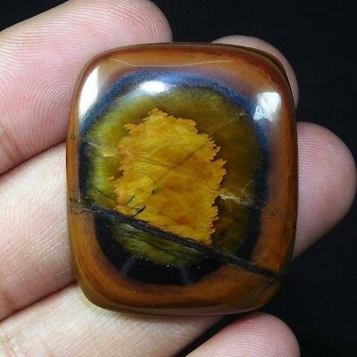 NATURAL Awesome Tiger's Eye Cabochon Loose Gemstone XJ172