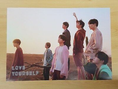K-POP BTS 3rd Album [LOVE YOURSELF 轉'Tear'] Y Ver. OFFICIAL POSTER -NEW-