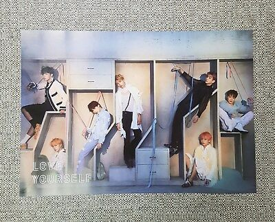 K-POP BTS 4th Album [LOVE YOURSELF 結'Answer] E Ver. OFFICIAL POSTER -NEW-
