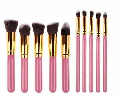 Makeup Brushes Set Pro Cosmetics 10pcs Studio Pro Makeup Make Up Cosmetic Brush