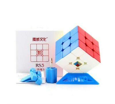CuberSpeed Moyu MoFang JiaoShi MF3RS3 Stickerless Bright 3x3x3 Magic Cube