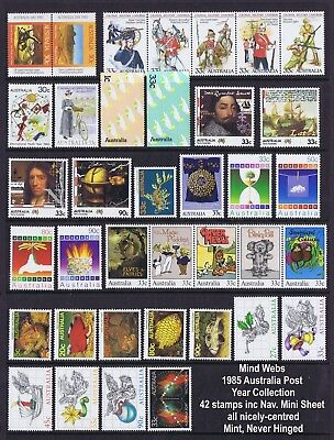 1985 Australian Decimal Year Collection (42 stamps) inc M/Sheet MNH !!COP THAT!!