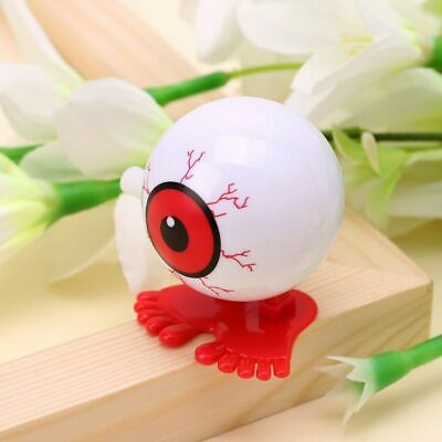 Wind Up Toy Jumping Eyeball Clockwork Cute Kids Educational Toy Color Random