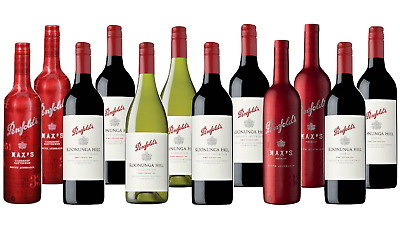 Penfolds Red and White Wine Mixed Ultimate Barbacue Pack 12x750ml Free Delivery