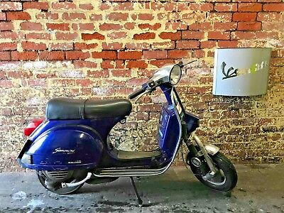 1999 Vespa PX125 with T5 engine 152 Polini top end- goes well. Piaggio PX, T5