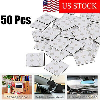 20/50Pcs Super Stick Double Sided Foam Tape Pads Mounting Round/Square Adhesive