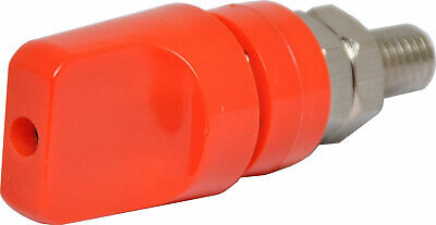 Red 80A Heavy Duty Binding Post  heavy duty binding post with 4mm banana socket