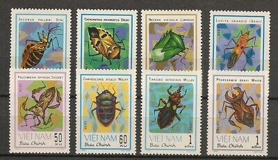 Vietnam 1982 Insects Insekten Insectes Insectos Beetles compl. set MNH