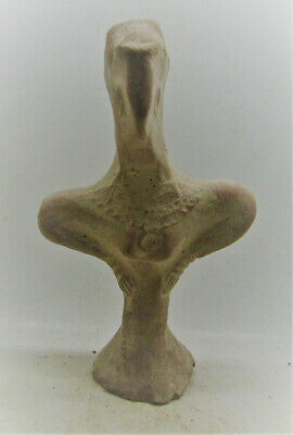 Finest Circa 2800-2000Bc Early Indus Valley Harappan Terracotta Fertility Figure