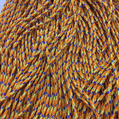 HOT 25/50/100/300FT 2mm Diameter Paracord Rope Parachute Cord CAMPING HiKING