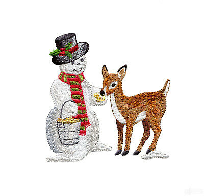 47 Wistful Snowmen Designs for Machine Embroidery - On a CD
