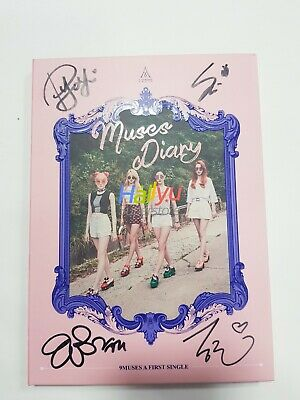 "9Muses ""Muses Diary"" Vol. 1  - Autographed(Signed) Album"