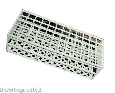 Test tube tray. Holds 60 tubes up to 17 mm tubes