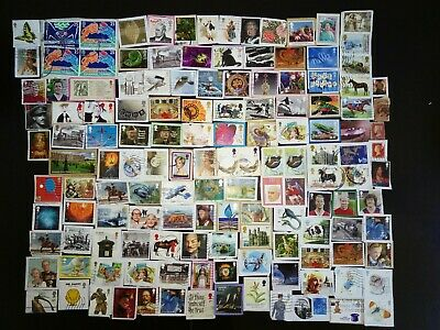 GB Stamps 100+ RECENT franked  Commemoratives  to 2019+Star Wars, Dr Who.