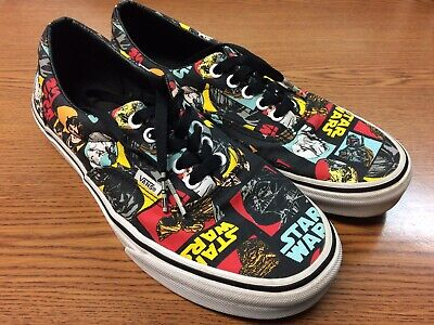 ac5d2f2107 VANS STAR WARS Shoes Classic Repeat May The Force Be With You Men s 9 Women  10.5