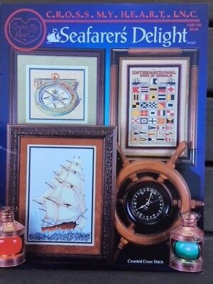Seafarer's Delight - Cross Stitch Book - Cross My Heart Inc.