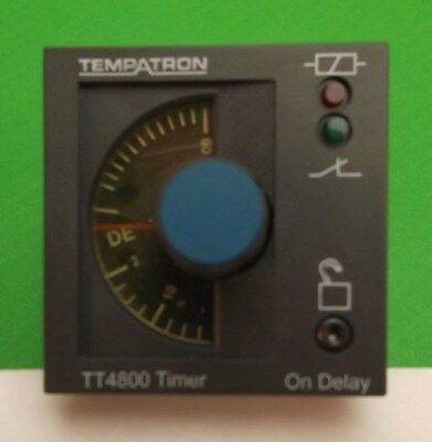 Timing Relay Timer 6 secs 6 hrs RS 217-1334 Time Delay Coil 110 Vac 8 Pin 5A
