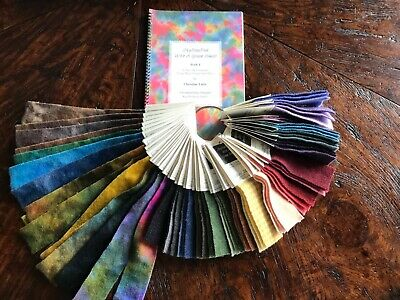 Dye Book with Swatches /By Christine Little/Magic Carpet Dyes