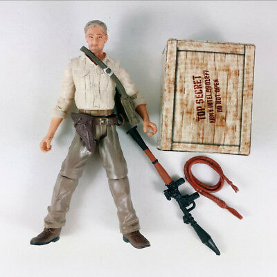 """Indiana Jones Raiders of the Lost Ark Action Figure Collectible 3.75"""" Movie toys"""