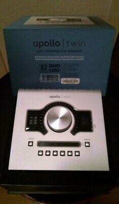 Universal Audio Apollo Twin USB w/ DUO Processing (Win) INTERFACE - NEW - PCA