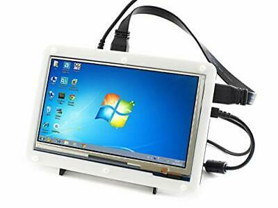 Waveshare 7inch 1024*600 Capacitive Touch Screen LCD Display HDMI Interface ...
