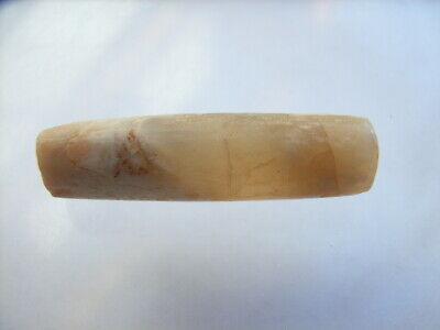 1 Ancient Neolithic Agate Ear Plug, Stone Age, VERY RARE !!