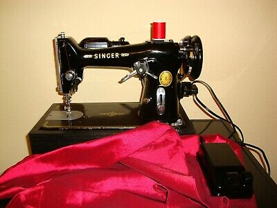 Rare  Singer Sewing Machine Model 206K25 ,zigzag ,fully Serviced