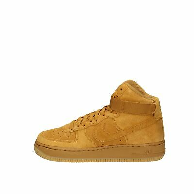 NIKE AIR FORCE 1 High Lv8 Wheat In Suede, Scarpa Da