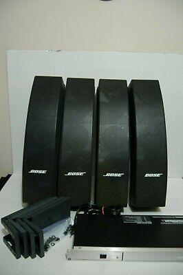 Bose 502 Panaray System All to GO:  5 Speakers With   System Controller, More