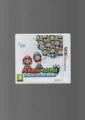 Jeu 3Ds Mario Luigi Dream Team Bros