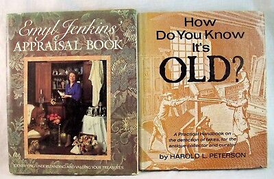 Emyl Jenkin's Appraisal Book & How Do You Know It's Old? Antique Reference Books