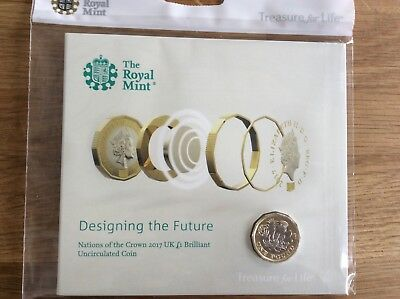 2017 Nations of the Crown one pound £1 Presentation Pack