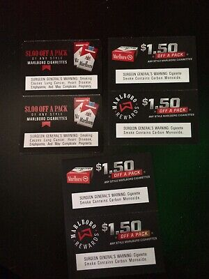 $8 00 SAVINGS ANY Style Marlboro Cigarette Coupons *READ BELOW FOR  EXPIRATION*
