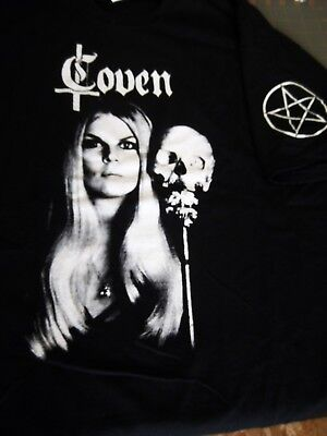COVEN Jinx Auth.Limited Tour Shirt, 2 sides printed,Witchcraft,Occult,SZ M