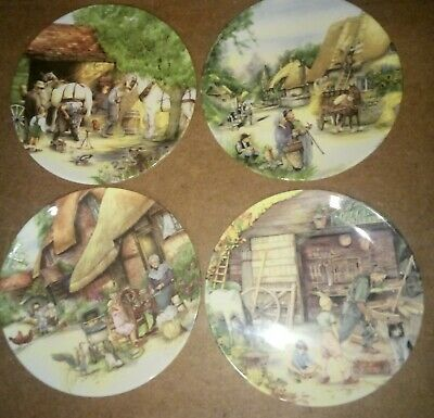 Royal Doulton Old Country Crafts Plates