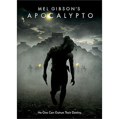 Apocalypto (DVD) OOP Out of Print Good W/ Insert & Slipcover Mel Gibson RARE