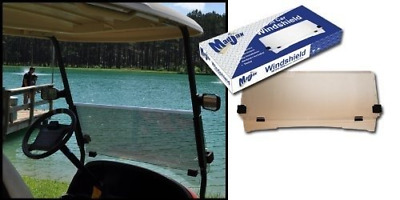 Golf Cart 2PC Tinted Windshield - Club Car DS 2000.5+