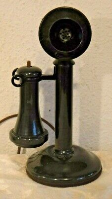 Western Electric 20 AL Non Dial Candlestick Desk Telephone Wired & Working
