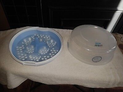 Philips Avent Microwave Steam Bottle Steriliser Good Quality And Condition