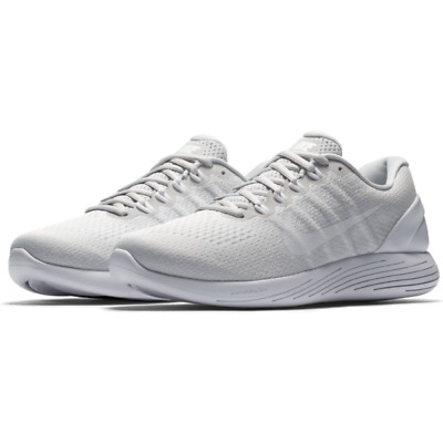 0a561baaa1c Nike Lunarglide 9 Running Shoes Pure Platinum Mens Size 10.5 New 904715-003