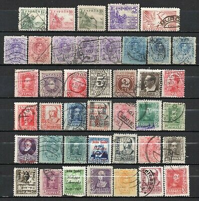 Spain & colonies very nice mixed era mixed collection,stamps as per scan(6405)