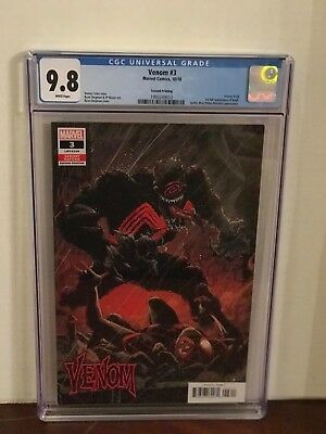 Venom 3 Cgc 9.8 Ryan Stegman Cover 2Nd Printing ~First Appearance Of Knull 1000